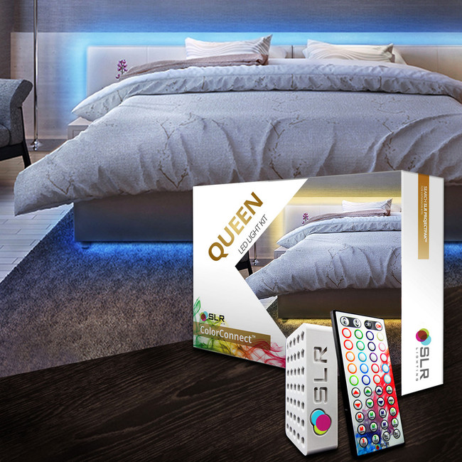 Accent Lighting For Beds and Headboards.