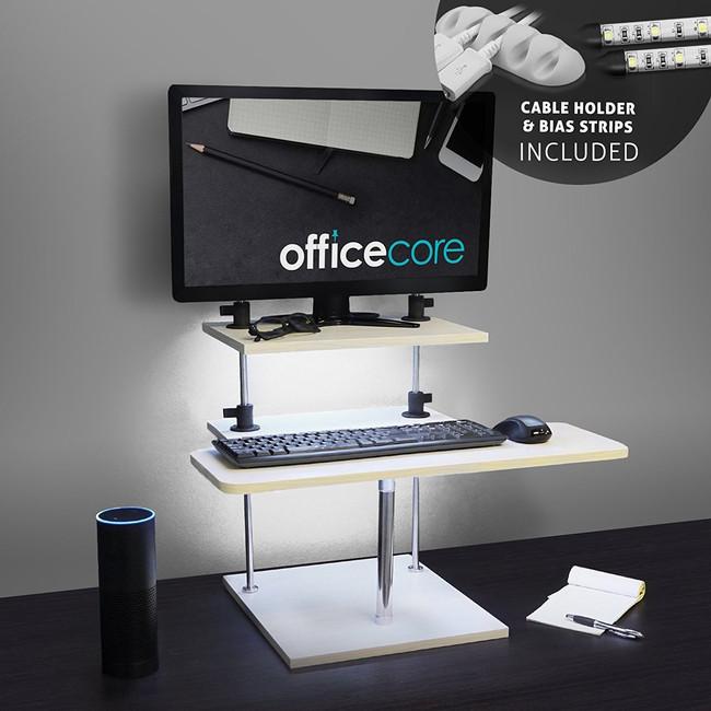 LED standing desk