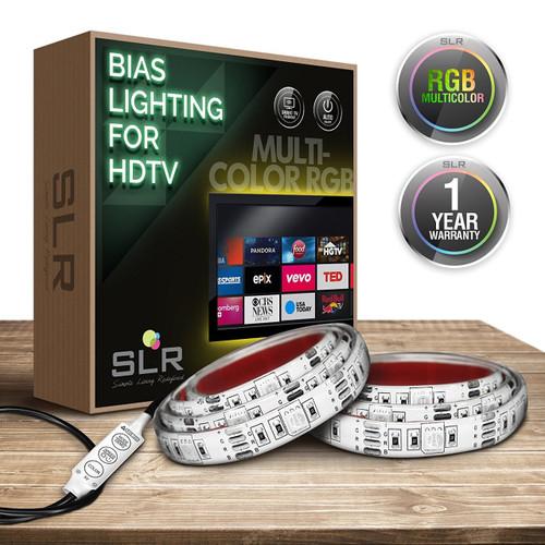Multi-Color USB Home Theater Bias Lighting Kit