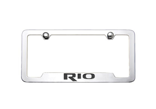 Kia Rio License Plate Frame