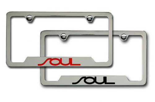 Kia Soul License Plate Frame