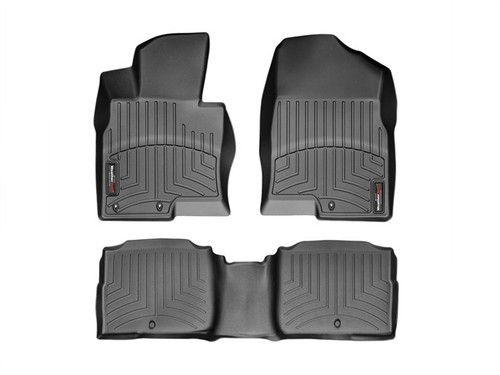Kia Optima WeatherTech FloorLiners - Black
