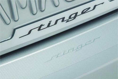 Kia Stinger Rear Bumper Protector Film