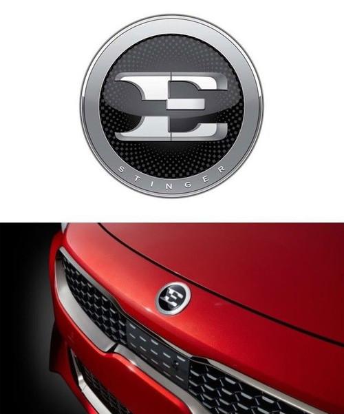 Kia Stinger Hood Emblem