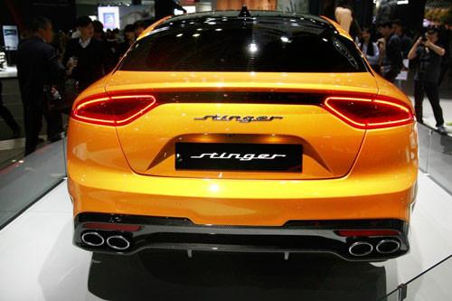 Kia Stinger Trunk Emblem