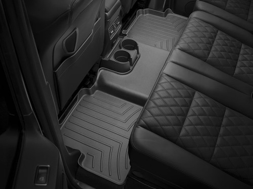 2015-2017 Kia Soul EV WeatherTech Floor Liners - Rear Set (Black)