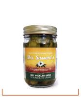 Hot Pickled Okra