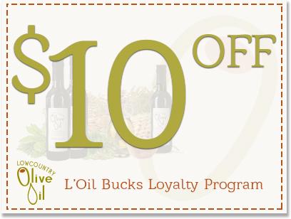 L'Oil Bucks $10 Reward