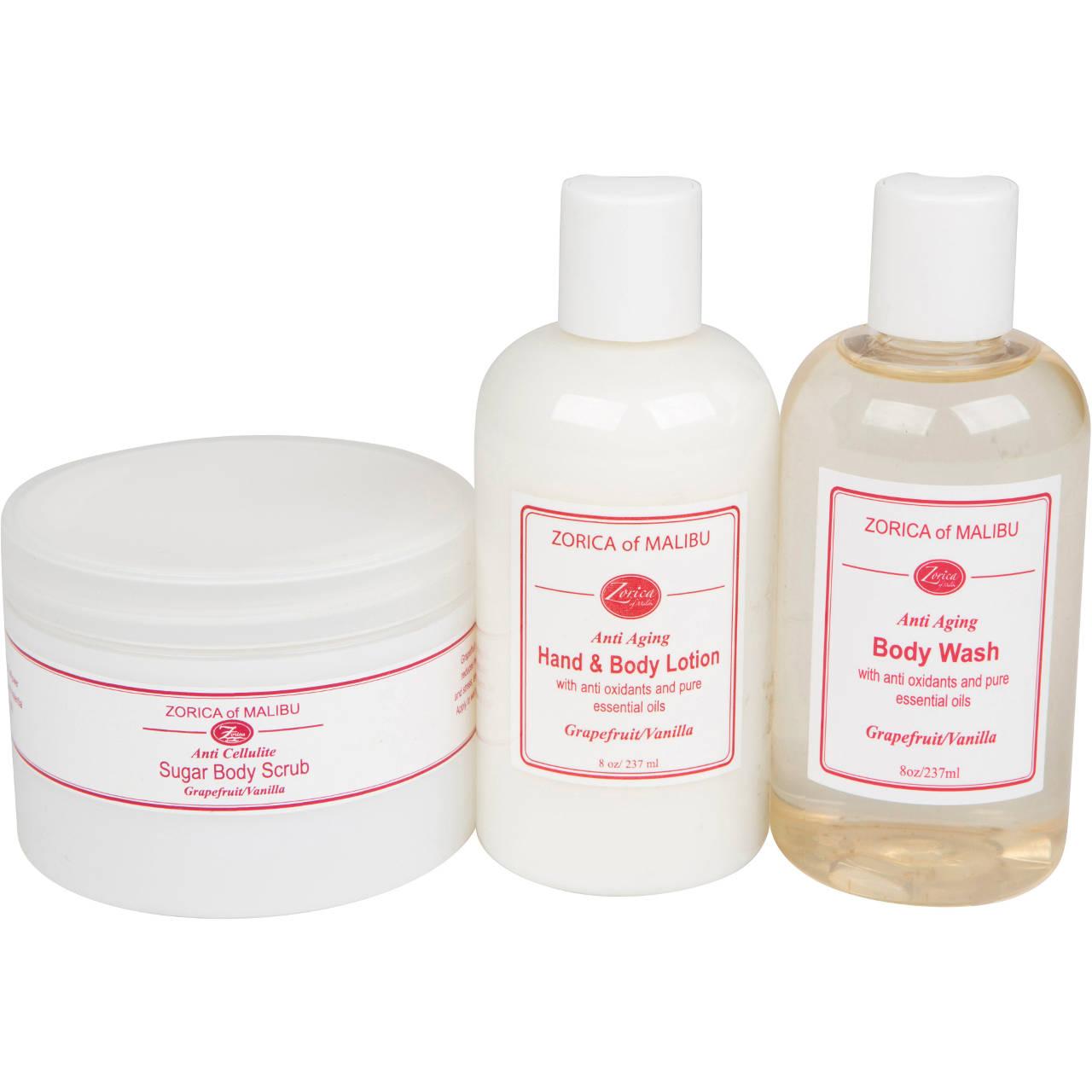 Anti-Aging Bath & Body Products