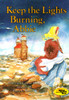 Keep the Lights Burning Abbie story book novel by Peter and Connie Roop, Reading Rainbow