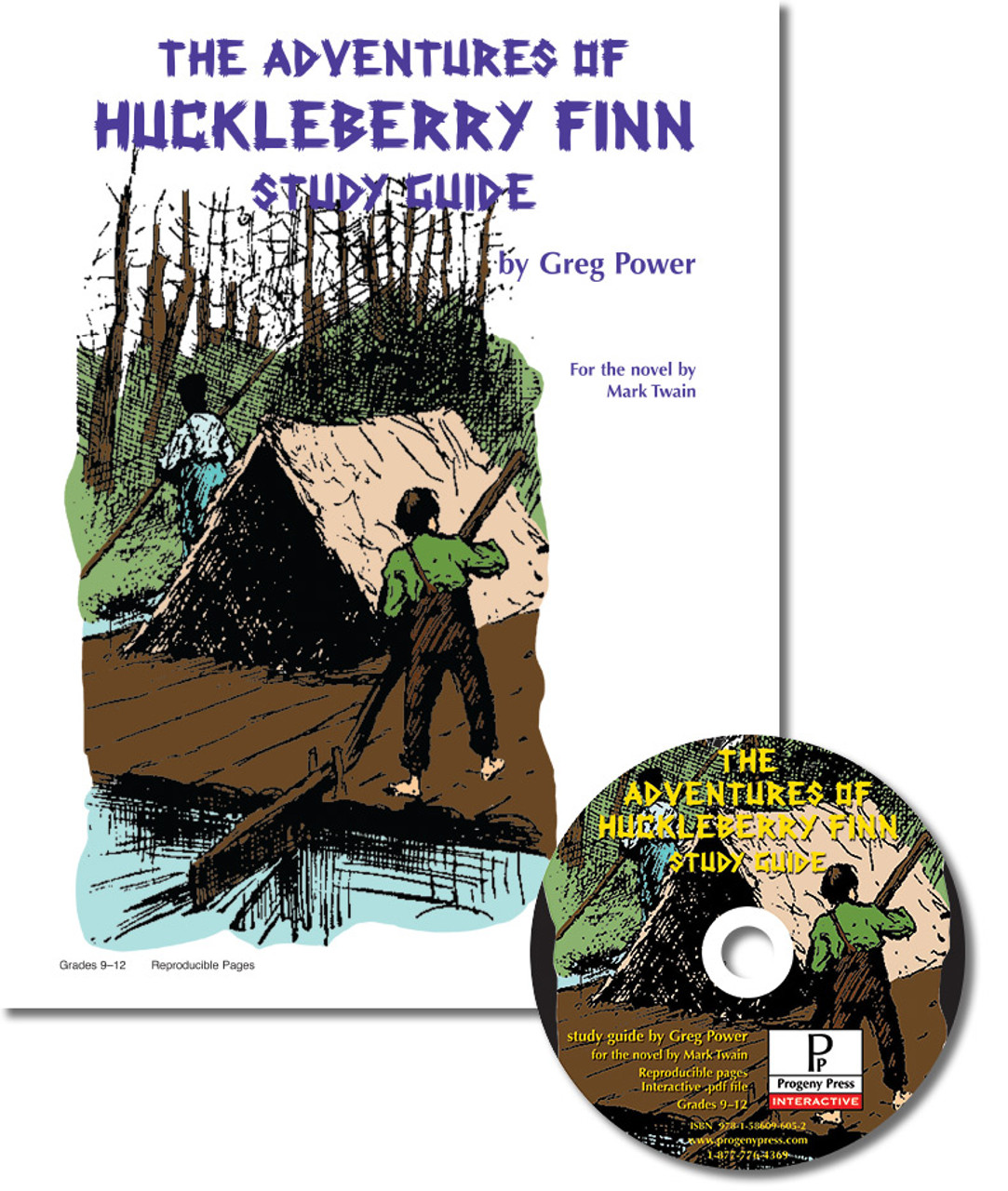adventures of huckleberry finn the study guide progeny press rh stores progenypress com Huckleberry Finn Raft Huckleberry Finn Movie