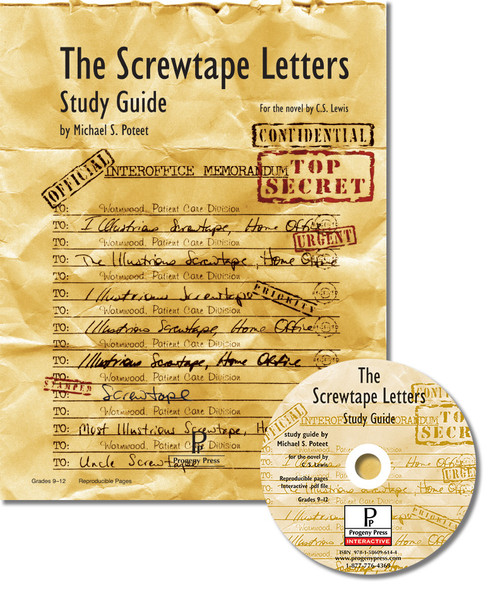 The Screwtape Letters unit study guide for literature, from a Christian perspective