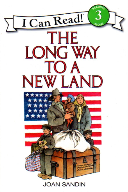 The Long Way to a New Land story book, HarperCollins I Can Read level 3 front cover