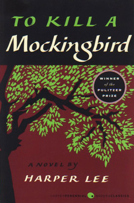 To Kill a Mockingbird book novel by Harper Lee. Harper Perennial Modern Classics.