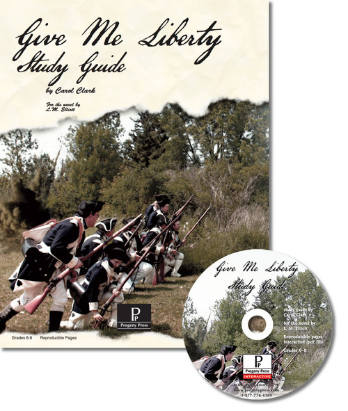 Give Me Liberty unit study guide for literature, from a Christian perspective.