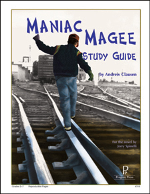 Maniac Magee Progeny Press unit study guide lesson plans for literature and reading from a Christian worldview with Biblical integration