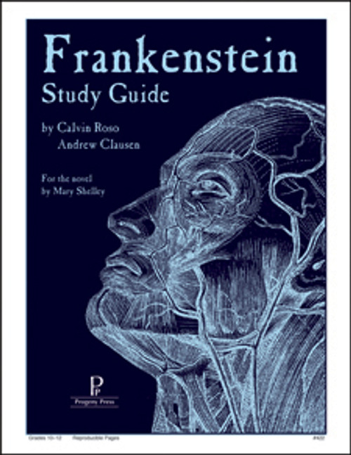 Frankenstein Progeny Press unit study guide lesson plans for literature and reading from a Christian worldview with Biblical integration