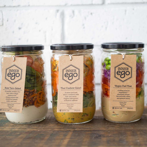 SEASONAL SALAD JARS
