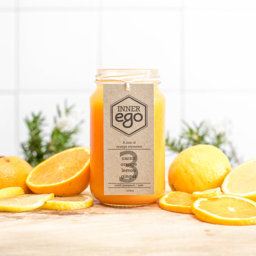 A refreshing orange mix, great for a morning pick me up!