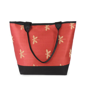 Signature Tote in Dragonfly Rose
