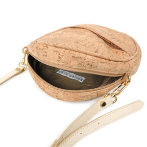 Circle Purse in Cork Dash