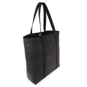 Large Web Tote in Black Cork