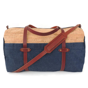 Cork Duffle in Cork Dash with Denim