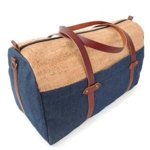 Duffle in Cork Dash with Denim