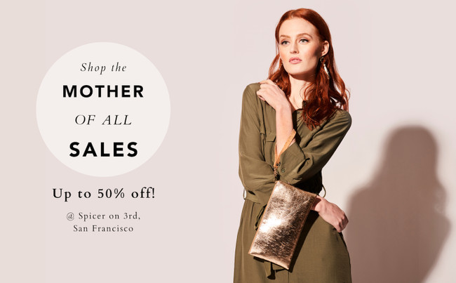 May 11-12: The Mother of All Sales