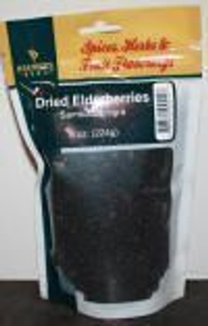 BB Dried Elderberries 8 Oz.