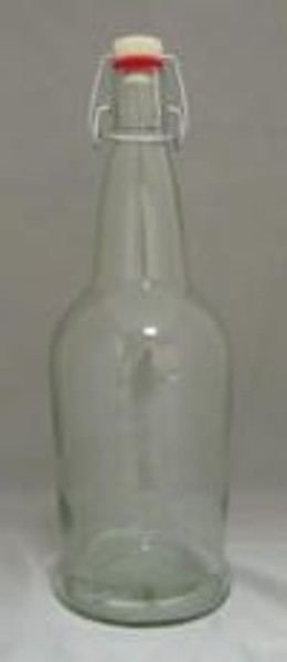 Clear 1 Liter E.Z. Cap Bottles