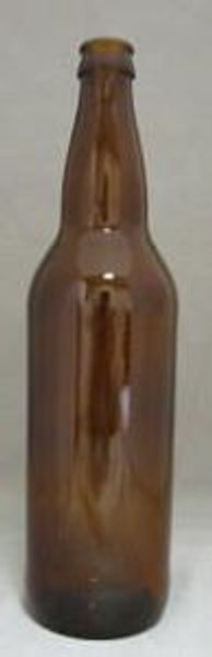 22 Oz. Beer Bottle-Amber
