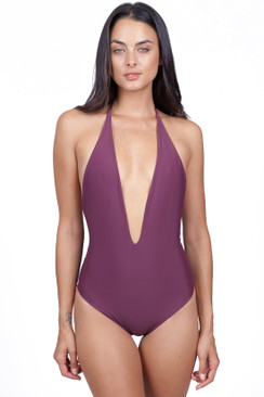 MIKOH Hinano One Piece in Wine