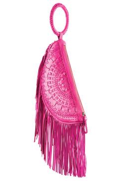 TREZO LAVI Soleil Bag in Deep Pink