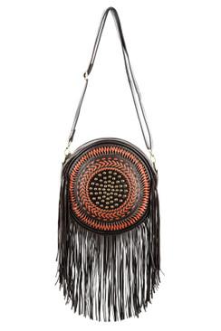 TREZO LAVI Dreamcatcher Bag in Dark Coco