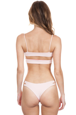 KOA SWIM Sunrise Top in Bahamas/Bare