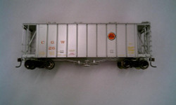 Athearn HO Scale RTR 40' 2600 Airslide Early Version, CGW #26 (Silver) Lombard Hobbies Exclusive