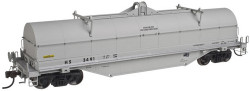 Atlas Master HO Scale Ready to Run 42' Steel Coil Car w/Fishbelly Sill Sides, Chattahoochee Bay Railroad HS #3460 (gray)