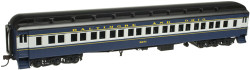 Atlas HO MASTER Paired Window Coach, Baltimore & Ohio* (Blue/Gray/Yellow) #5298