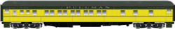 Atlas Master HO ATL20003619 Pullman 10-1-1 Sleeper Car Chicago & North Western C&NW Fox River (Green/Yellow)