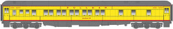 Atlas Master HO ATL20003630 Pullman 10-1-1 Sleeper Car Union Pacific UP Columbia Gorge (Yellow/Gray/Red)