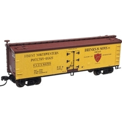 Atlas N MASTER 40' WOOD REEFER BRINKS & SONS 8052