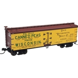 Atlas N MASTER 40' WOOD REEFER WISCONSIN CANNERS ASSOCIATION 40626