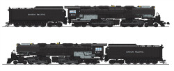 Broadway Limited Imports HO BLI4982 Union Pacific UP Challenger 4-6-6-4, #3714, Black & Graphite, Oil Tender, w/ wind wings, Paragon3 Sound DC DCC, Smoke