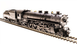 Broadway Limited Imports HO BLI5466 Union Pacific UP MT Class 4-8-2, #7012, Black & Graphite, Oil Tender, Paragon3 Sound DC DCC, Smoke