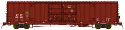 BLMA N Scale RTR, Santa Fe Class BX-166 60' Beer Boxcar, Santa Fe #621527 (Boxcar Red, No Logo)