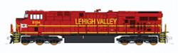 "Fox Valley Models N 70457B Ready to Run-DCC Ready (6-pin Decoder Socket) GE ""Gevo"" GE-ES44AC Diesel Locomotive, Norfolk Southern #8104 Heritage, Lehigh Valley (Cornell Red) ""B"" Version"