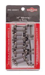 """Intermountain HO 40051 36"""" Wheels 12 Sets"""