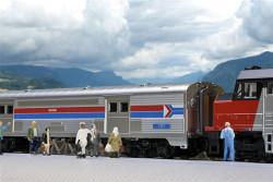 "Kato N 106081 Amtrak ""Southwest Limited"" Ex-Santa Fe Cars"