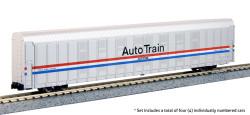 Kato N 106-5508 Autorack  Amtrak Auto Train Phase III 4 Car Set #2